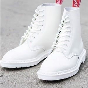 Dr. Martens x Undercover RARE White 1460 Boots